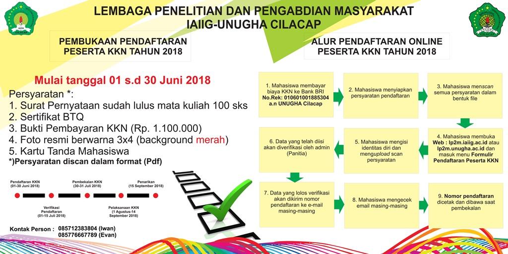 Formulir Pendaftaran KKN 2018